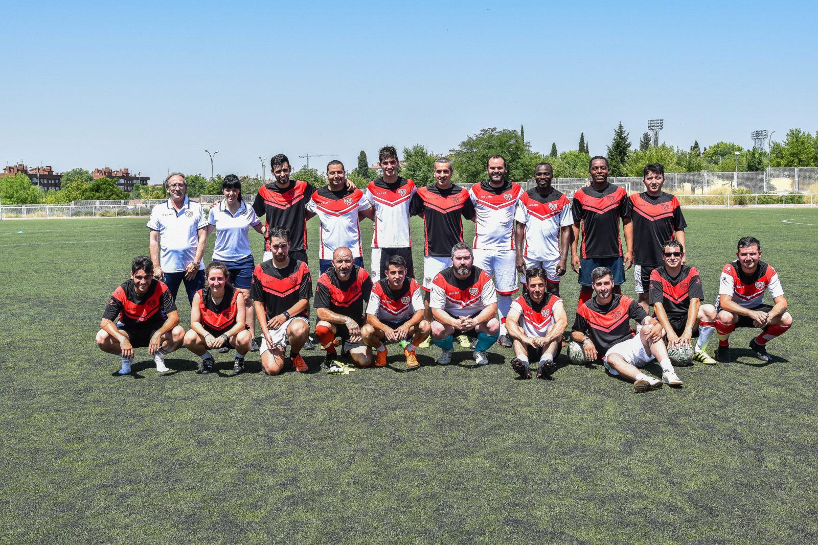 Fin de temporada en la Escuela de fútbol FRV