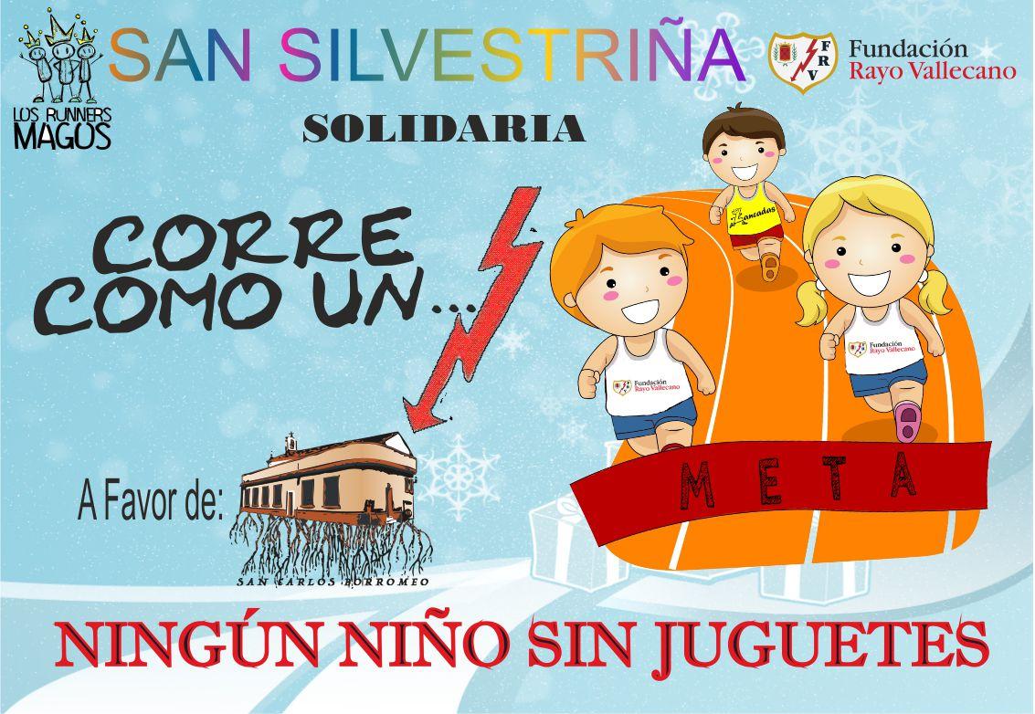 La Fundación Rayo Vallecano presenta la San Silvestriña 2018