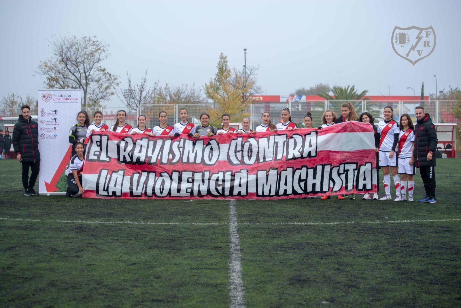 La Fundación Rayo Vallecano y el Rayismo, unidos contra la Violencia Machista