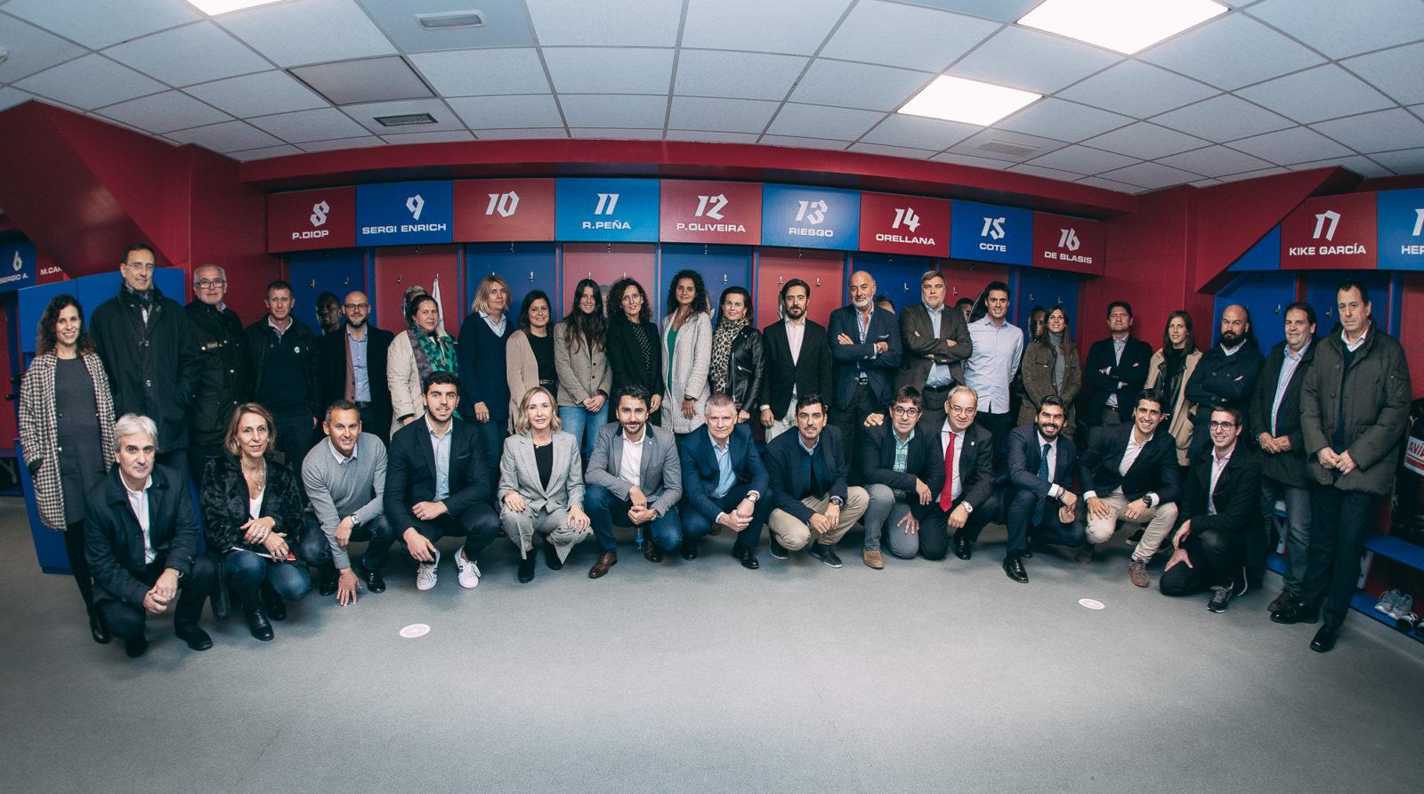 La Fundación Rayo Vallecano participa en el XII Encuentro de Fundaciones de clubes de fútbol profesional