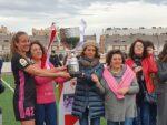 El Madrid CFF, campeón del I Trofeo de Fútbol Femenino Villa de Vallecas